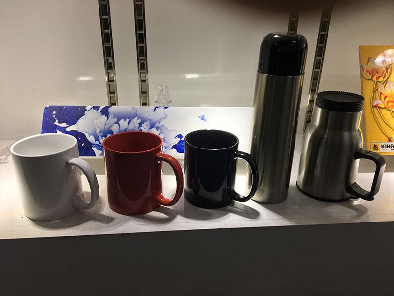 KINGT UV Printer Printing on Cup