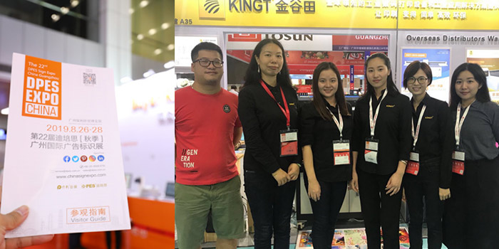 DPES Sign Expo China 2019 in Guangzhou