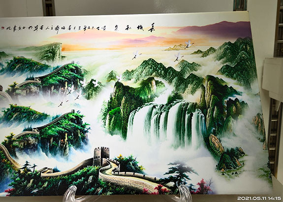 It should be pay attention to uv inkjet printing ceramic tiles