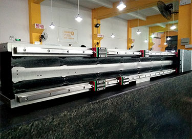 Cross Beam Adopts Steel Frame with Dual Guide Rails