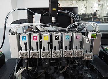 Dual Negative Pressure Ink System