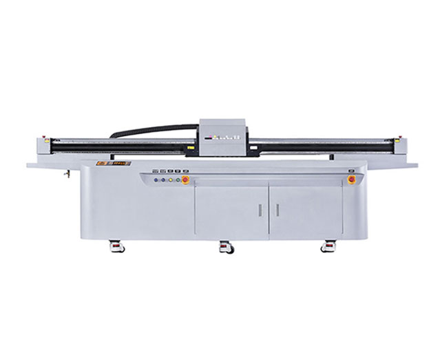 high speed UV LED flatbed printer