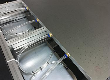 Vacuum Bed Platform